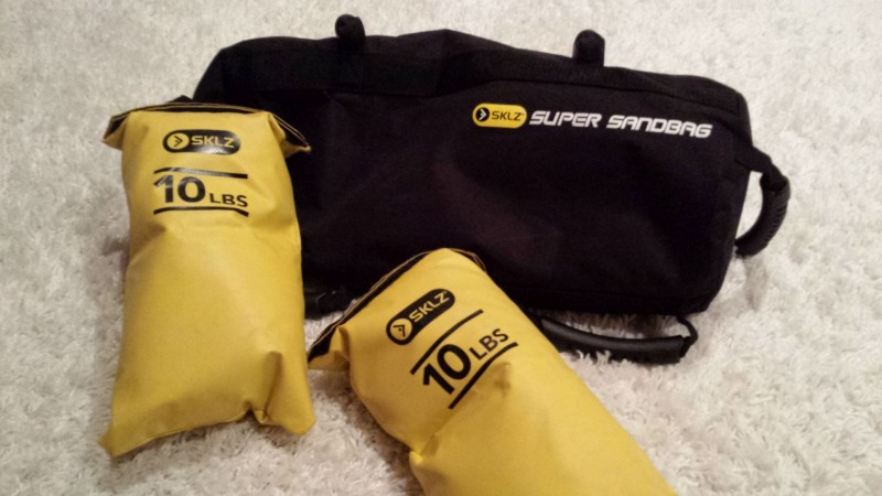 Der SKLZ Super Sandbag mit Loadingbags