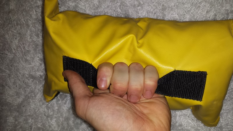 Griffe am Loadingbag des SKLZ Super Sandbag