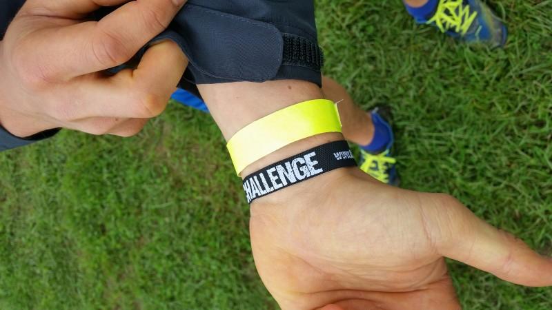 Das Armband der KrassFit Challenge in Ostwestfalen 2014