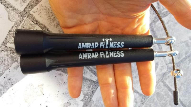 Die Griffe des AMRAP Springseil Bearing Pro