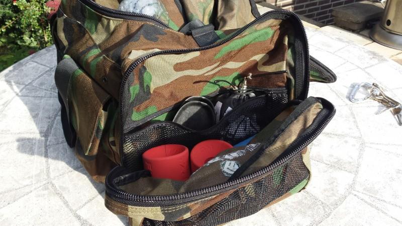 Die große Seitentasche der King Kong Bag 3.0
