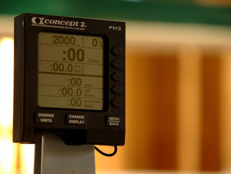 PM3 Computer eines Concept 2 Rudergeräts
