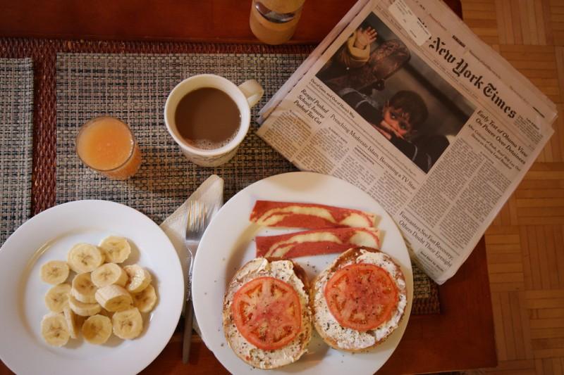 Das Frühstück im Kraftsport