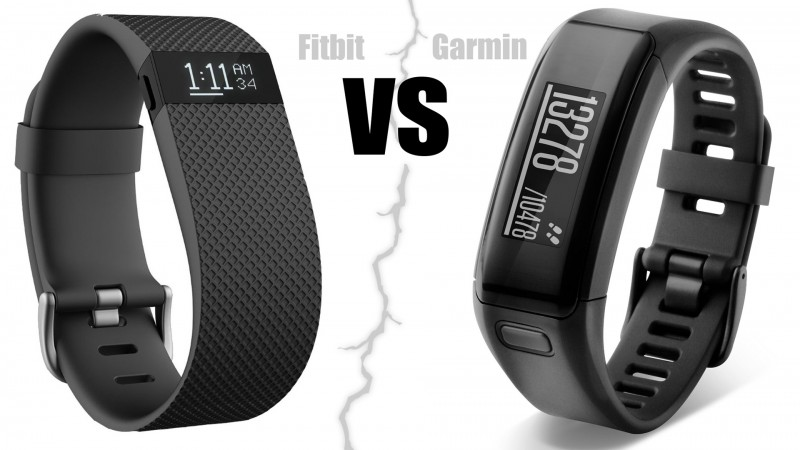 Fitbit Charge HR vs Garmin Vivosmart HR