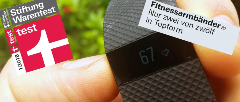 Fitnesstracker bei Stiftung Warentest 01/2016