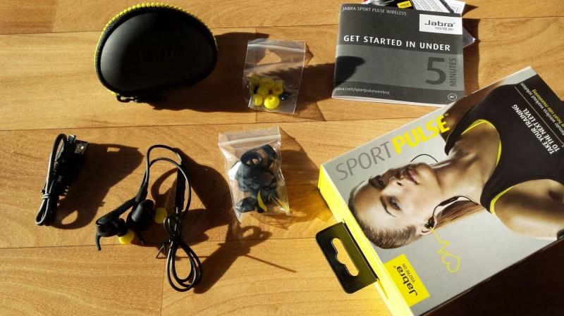 Lieferumfang des Jabra Sport Pulse Wireless