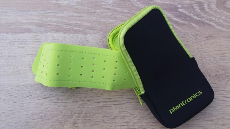Das Armband vom Plantronics BackBeat FIT
