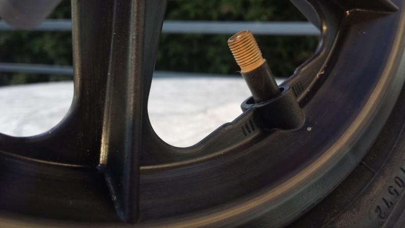 Ventil am Reifen vom PROspeedWheel