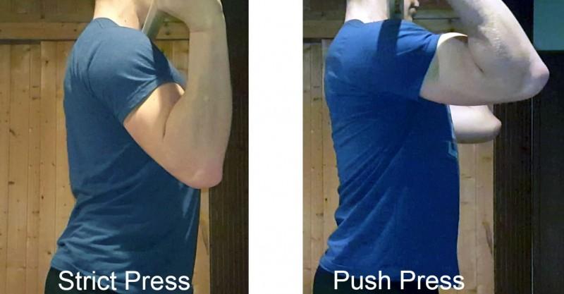 Push Press für einen stärkeren Press