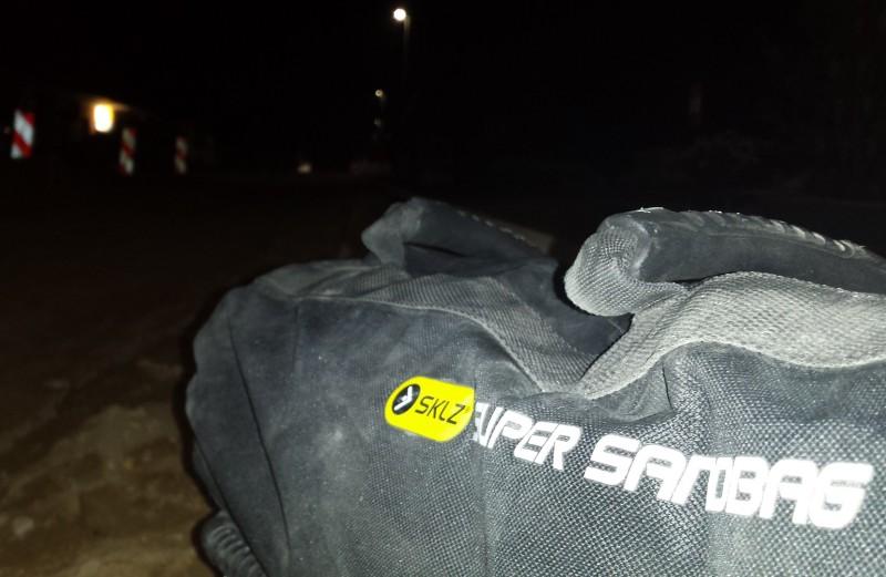 Training mit dem Sandsack