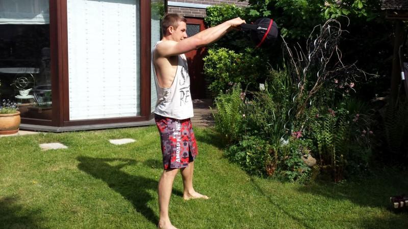 Die Smashbell von Variosports im Einsatz bei Swings