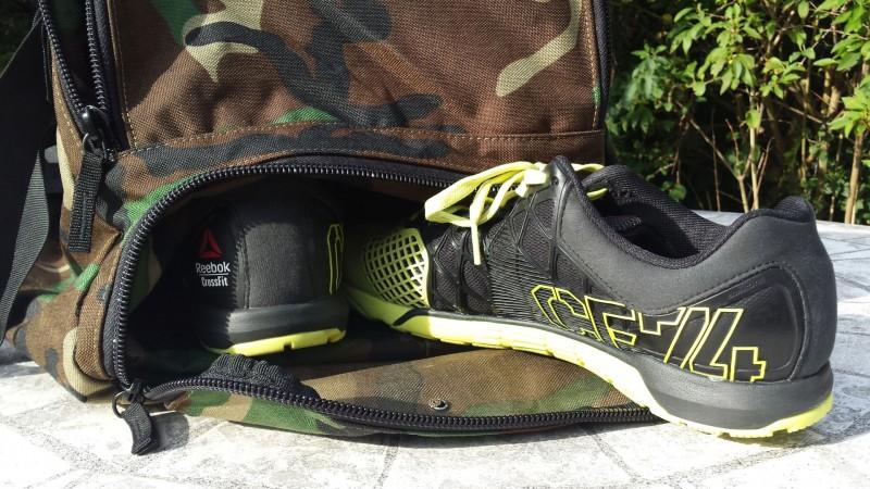 Das untere Schuhfach der King Kong Bag 3.0