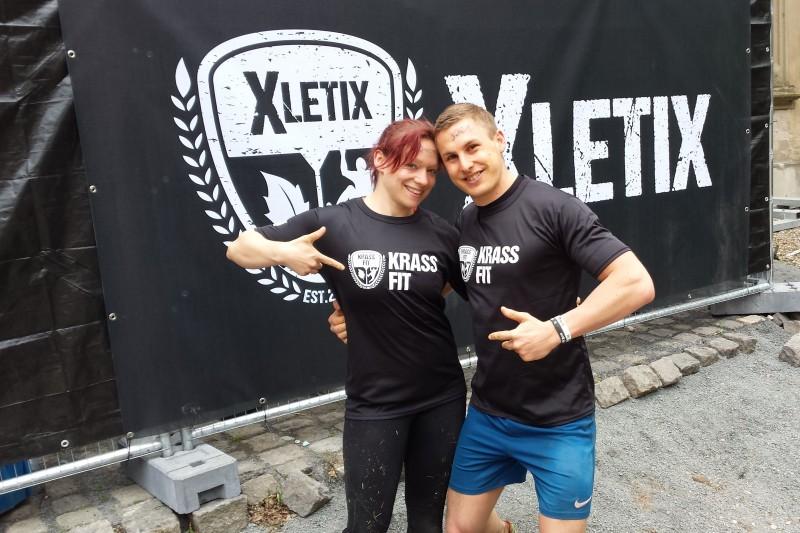 Wir nach der XLETIX Challenge in Bad Hönnigen 2015