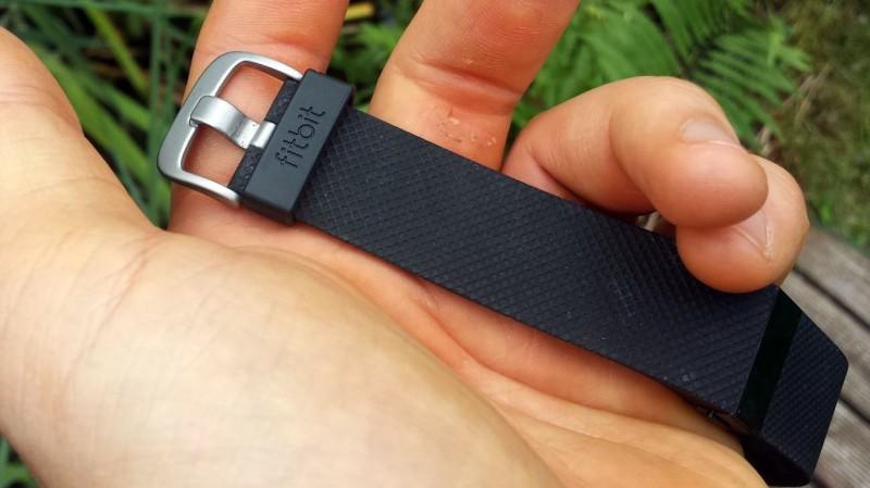 Verschluss des Fitbit Charge HR