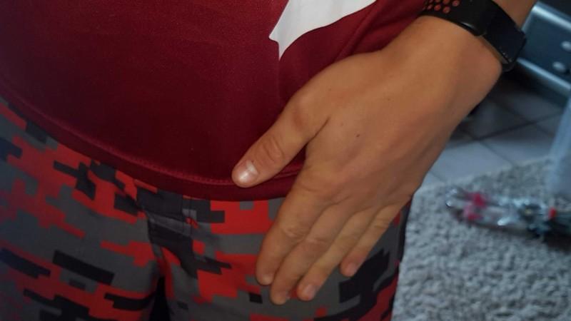 Handposition für Ring Dips