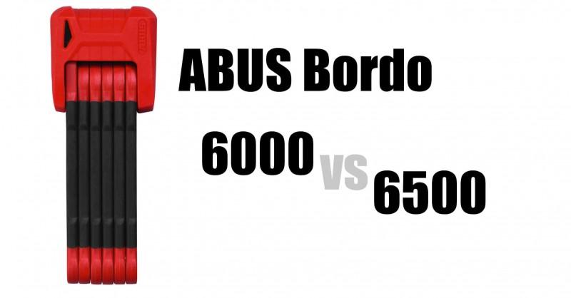 Abus Bordo 6000 vs 6500 - Wo sind die Unterschiede?