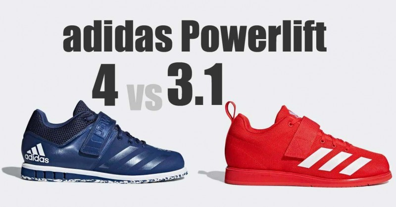 adidas Powerlift 4 vs 3.1 - Where are the differences?