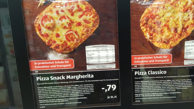 Pizza Margherita Lidl Kalorien Archidev