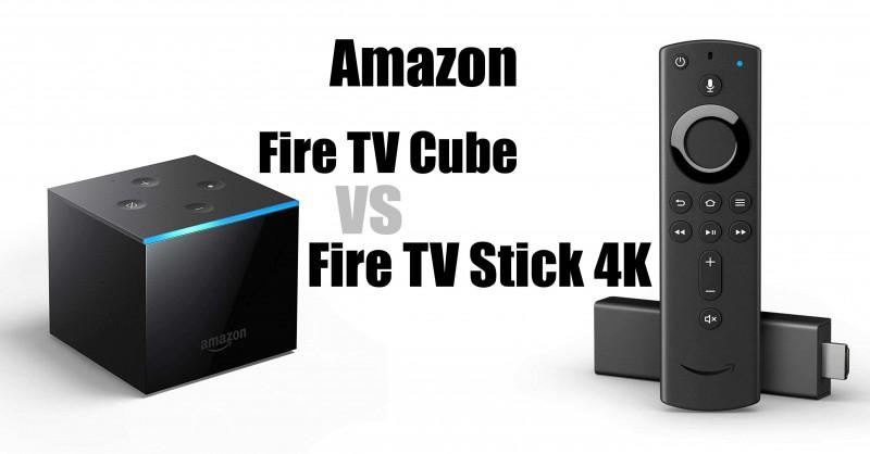 Amazon Fire TV Cube vs Fire TV Stick 4K - Wo sind die Unterschiede?