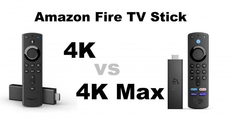 Amazon Fire TV Stick 4K vs 4K Max - Wo ist der Unterschied?