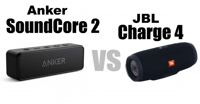 Anker SoundCore 2 vs JBL Charge 4 - Which is better?