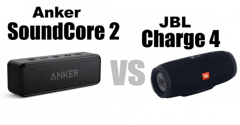 Anker SoundCore 2 vs JBL Charge 4 - Welcher ist besser?
