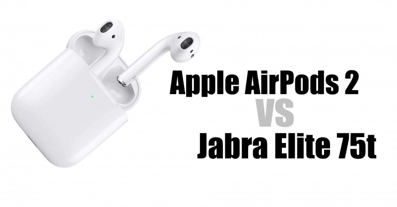 AirPods 2 vs Jabra Elite 75t - Which is better?