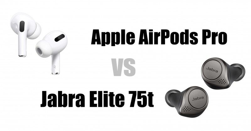 Apple AirPods Pro vs Jabra Elite 75t - Quale è meglio?