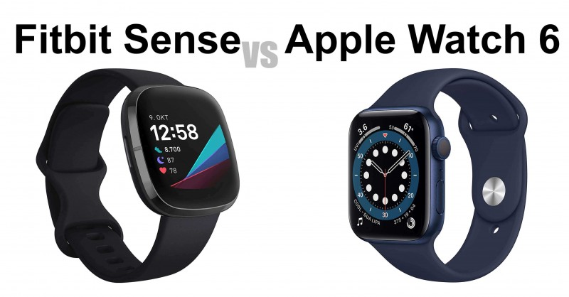 Fitbit Sense vs Apple Watch 6 - Which one is better?