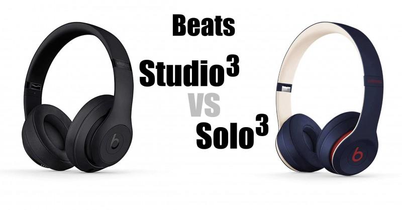 Beats Studio3 vs Solo3 - Où sont les différences?