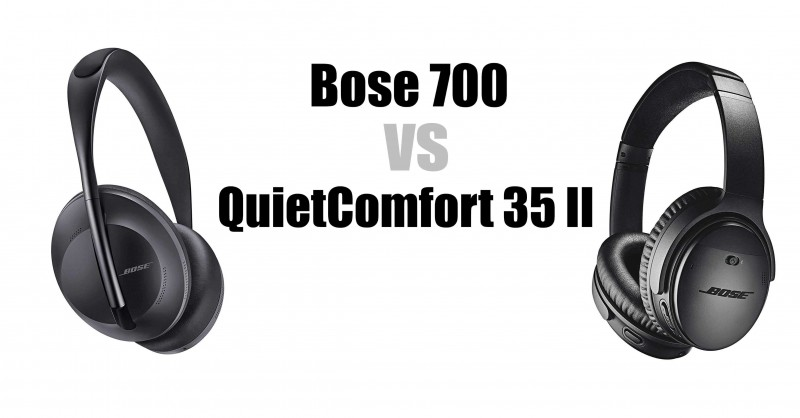 Bose 700 vs QuietComfort 35 II - Where are the differences?