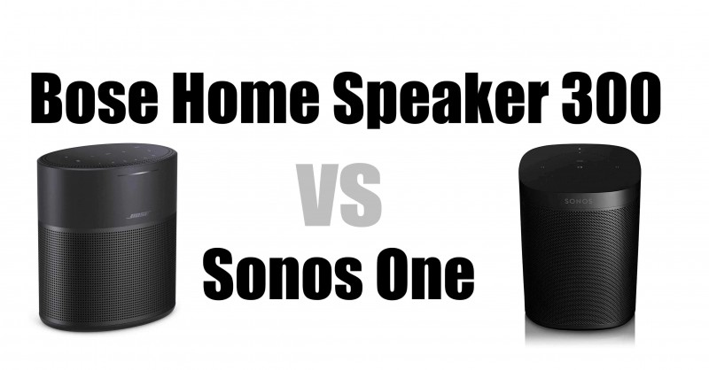 Bose Home Speaker 300 vs Sonos One - ¿Cuál es mejor?