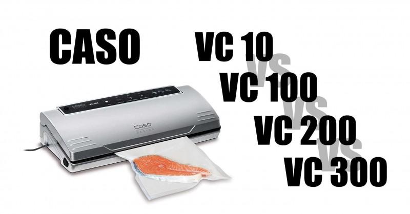 CASO Vakuumierer im Vergleich - Wo sind die Unterschiede?