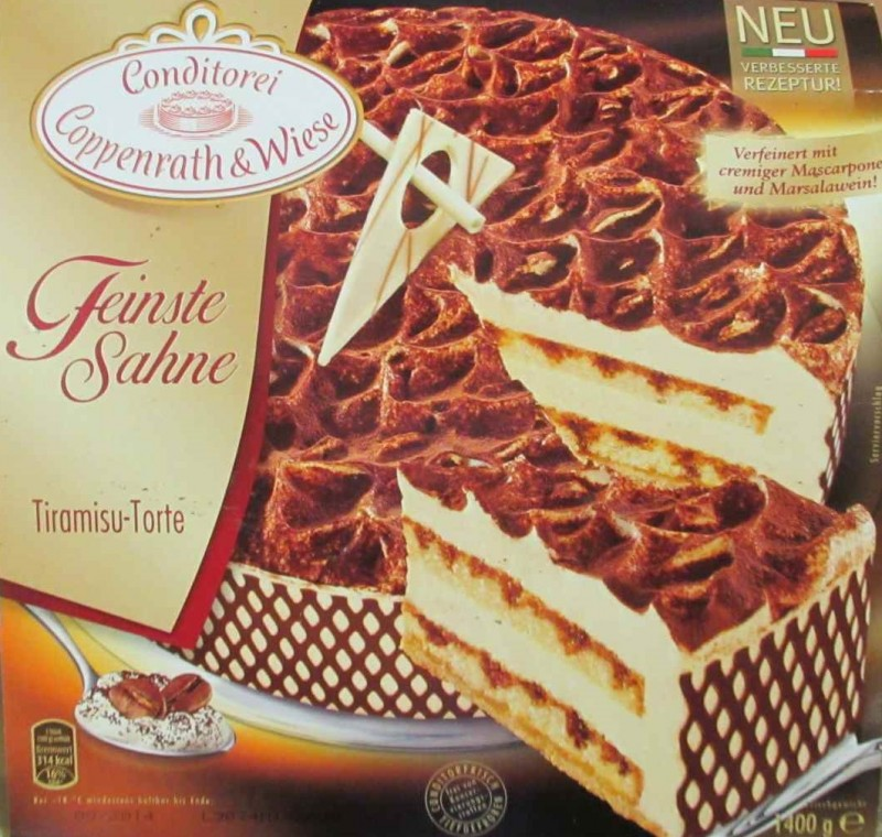 Coppenrath Wiese Feinste Sahne Tiramisu Torte Kalorien