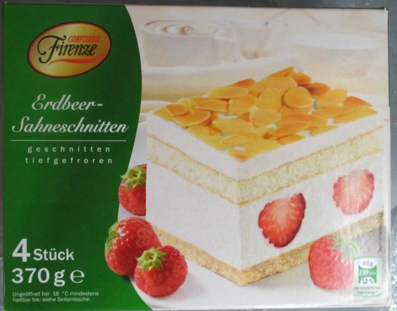Confiserie Firenze Lidl Erdbeer Sahneschnitten Kalorien