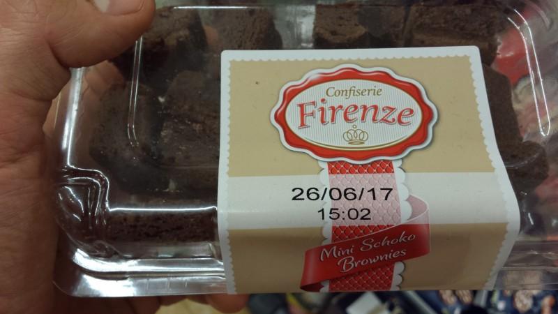 Confiserie Firenze Lidl Mini Schoko Brownies Kalorien