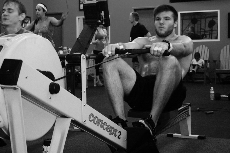 Workouts for the rowing machine