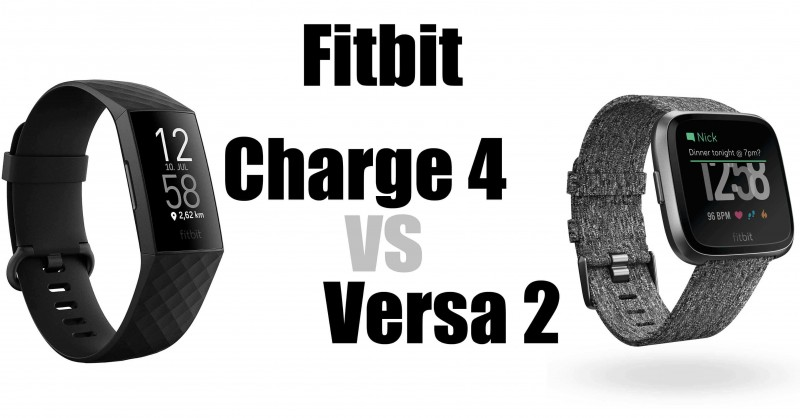 Fitbit Charge 4 vs Versa 2 - Which is better?