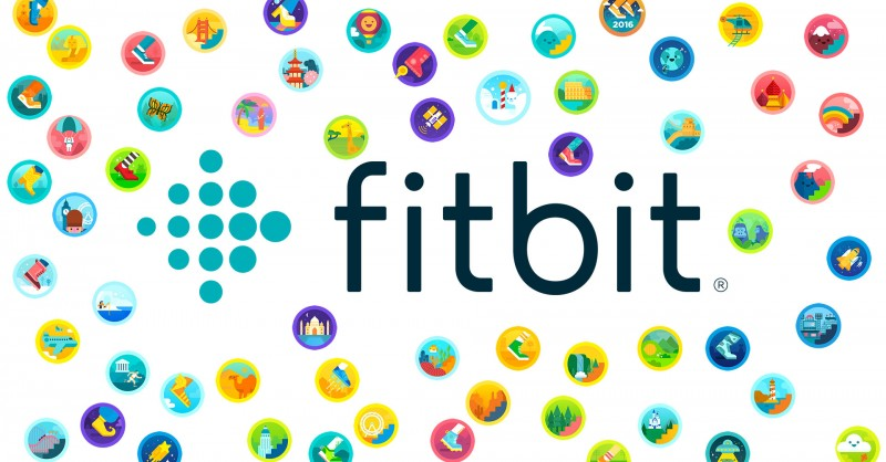 All Fitbit badges in the overview