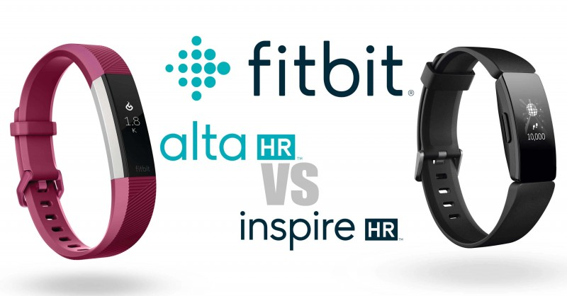 Fitbit Alta HR vs Inspire HR - Where are the differences?
