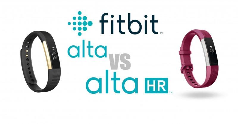 Fitbit Alta vs Alta HR - Die Unterschiede im Vergleich