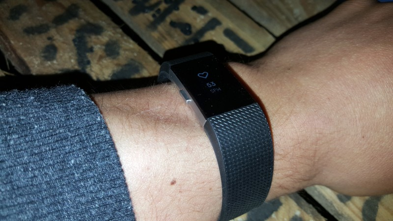 Fitbit Charge 2 am Arm