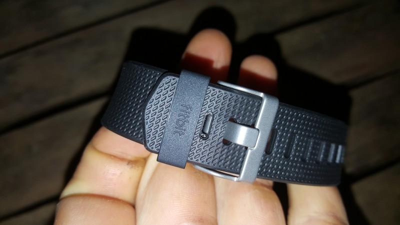 Verschluss vom Fitbit Charge 2