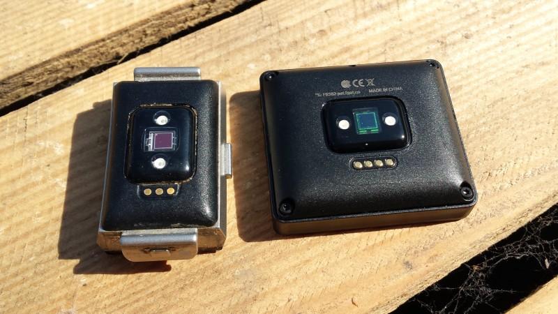 Fitbit setzt bei beiden Geräten die identische Technologie ein