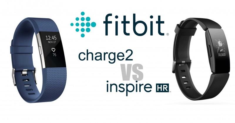 Fitbit Charge 2 vs Inspire HR - Wo sind die Unterschiede?