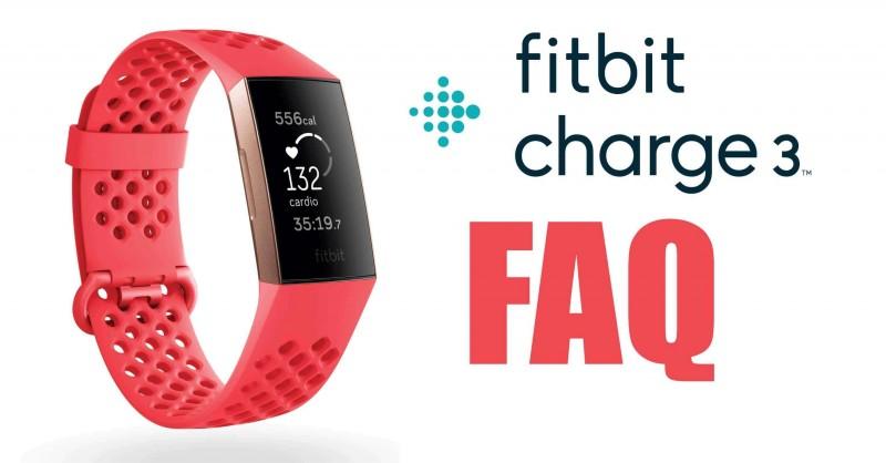 Fitbit Charge 3 - Fragen & Antworten | FAQ