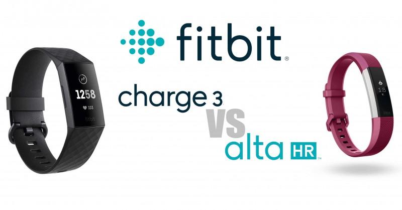 Fitbit Charge 3 vs Alta HR - Unterschiede im Vergleich