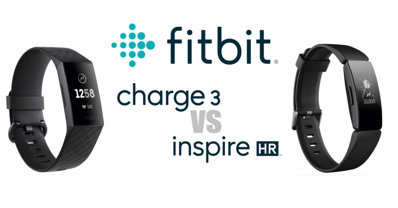 Fitbit Charge 3 vs Inspire HR - Which is better?