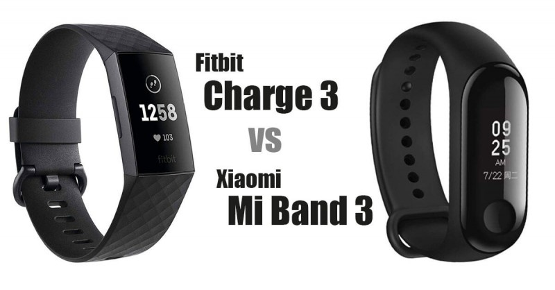 Fitbit Charge 3 vs Xiaomi Mi Band 3 - Which is better?