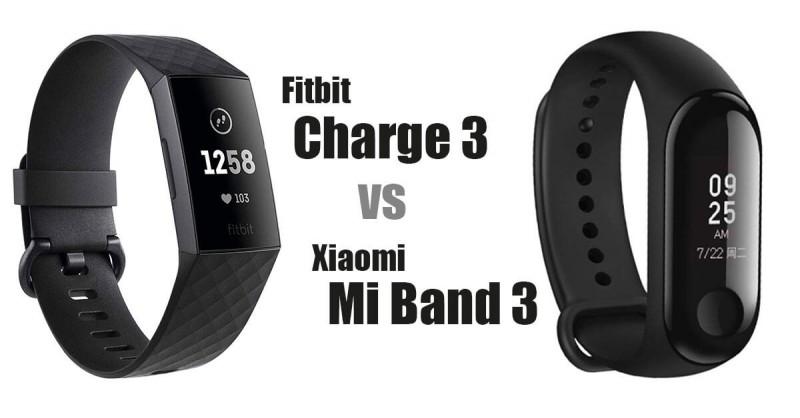 Fitbit Charge 3 vs Xiaomi Mi Band 3 - Welcher ist besser?